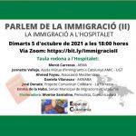 Taula rodona Parlem de la Immigració II- A L'Hospitalet de Llobregat