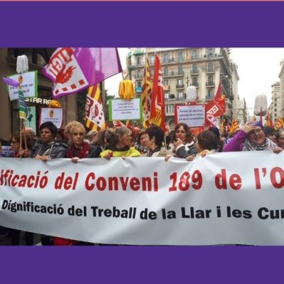 Difusió CONCENTRACIÓ PER LA DIGNIFICACIÓ DEL TREBALL DE LA LLAR I LES CURES